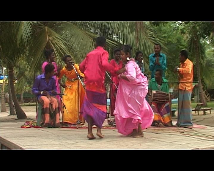 Afro-Sri Lankans Dancing