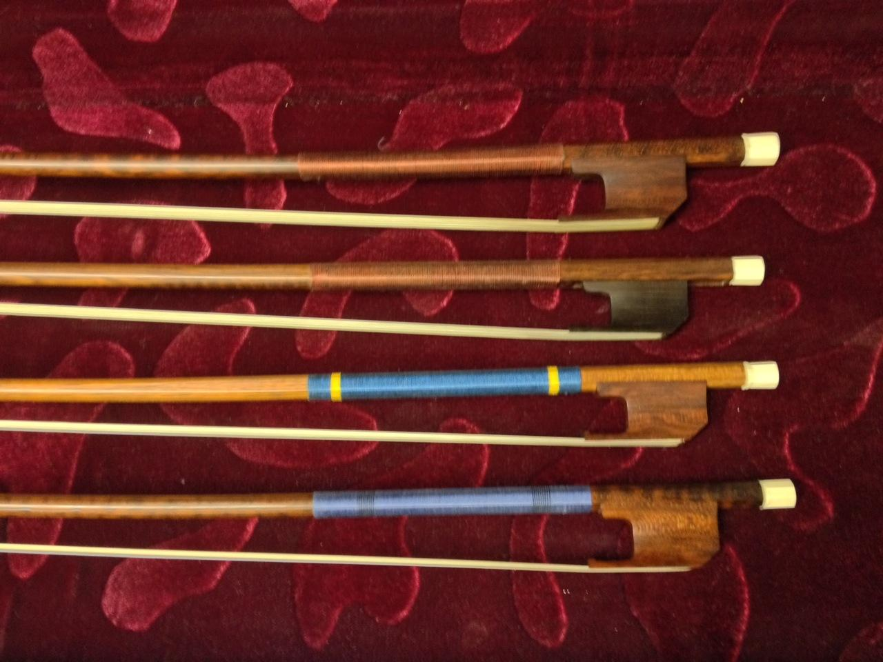 Acquisition: Quartet of Classical Bows for Instrument Collection