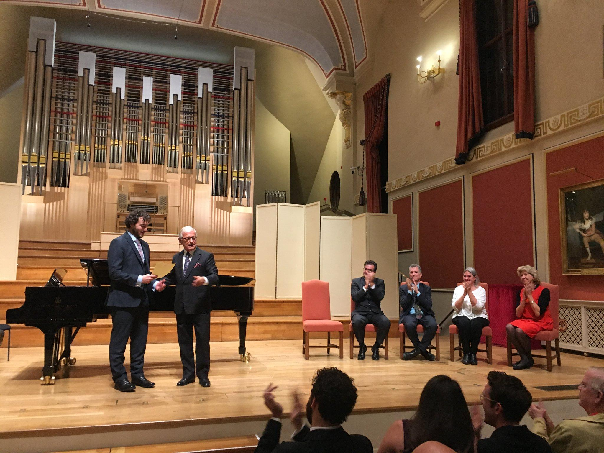 ALUMNI: Michael Mofidian wins 2017 Pavarotti Prize
