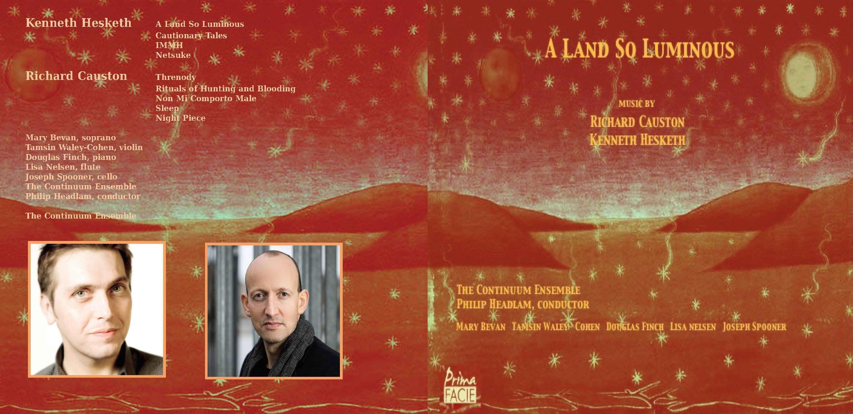 New CD from Richard Causton
