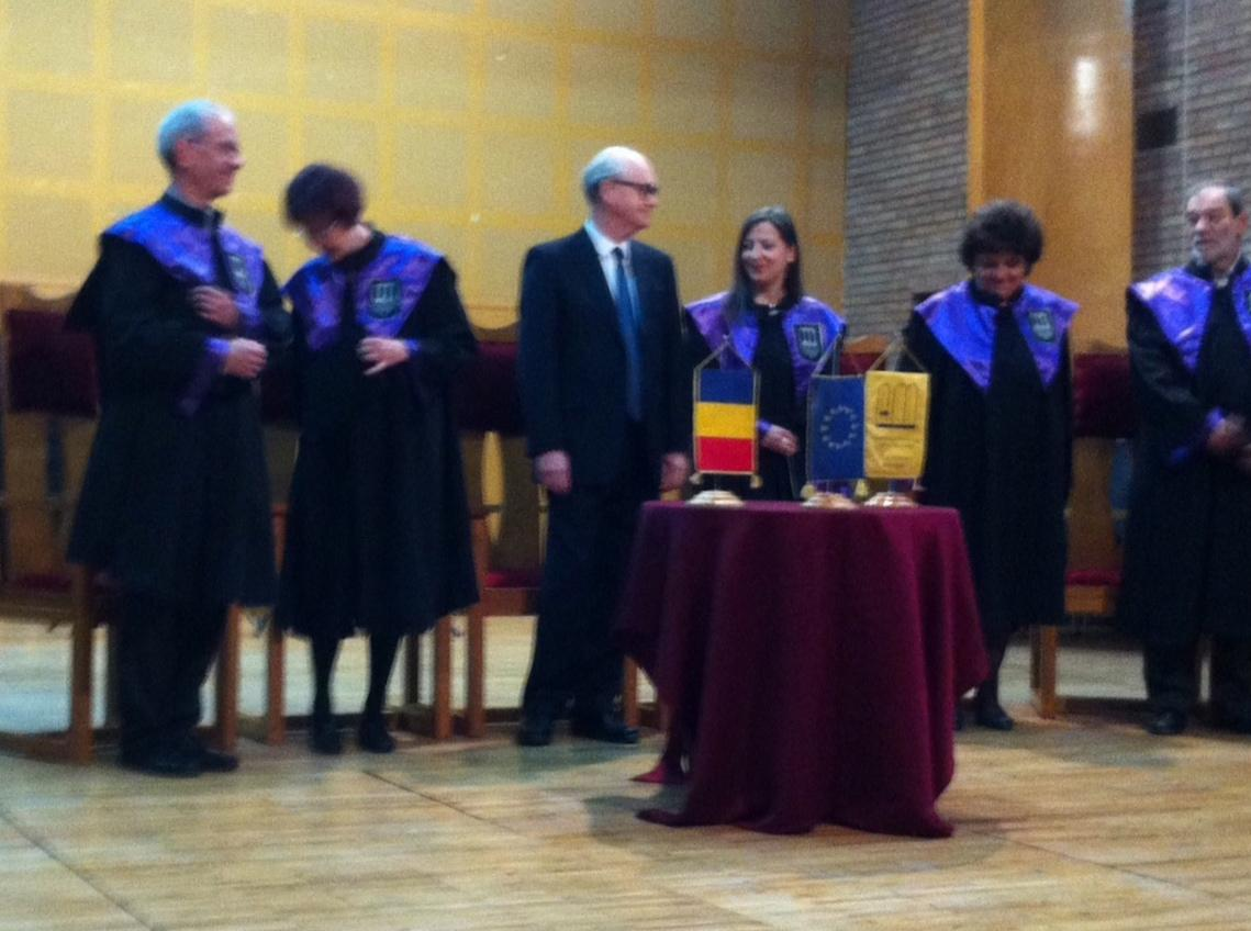 Nicholas Cook awarded honorary doctorate