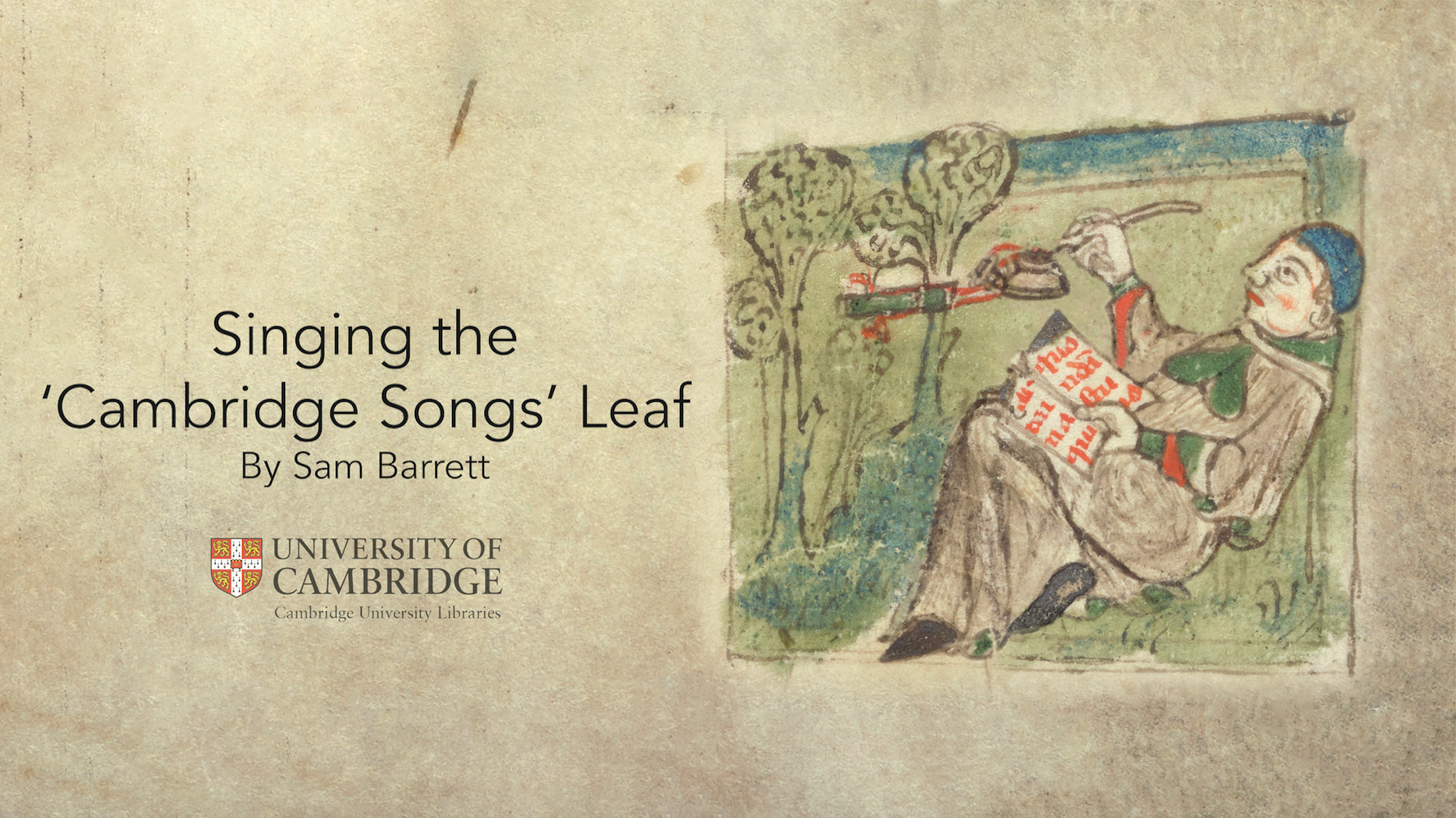 Singing Boethius's Lost Songs: New Videos Bring Neumes to Life