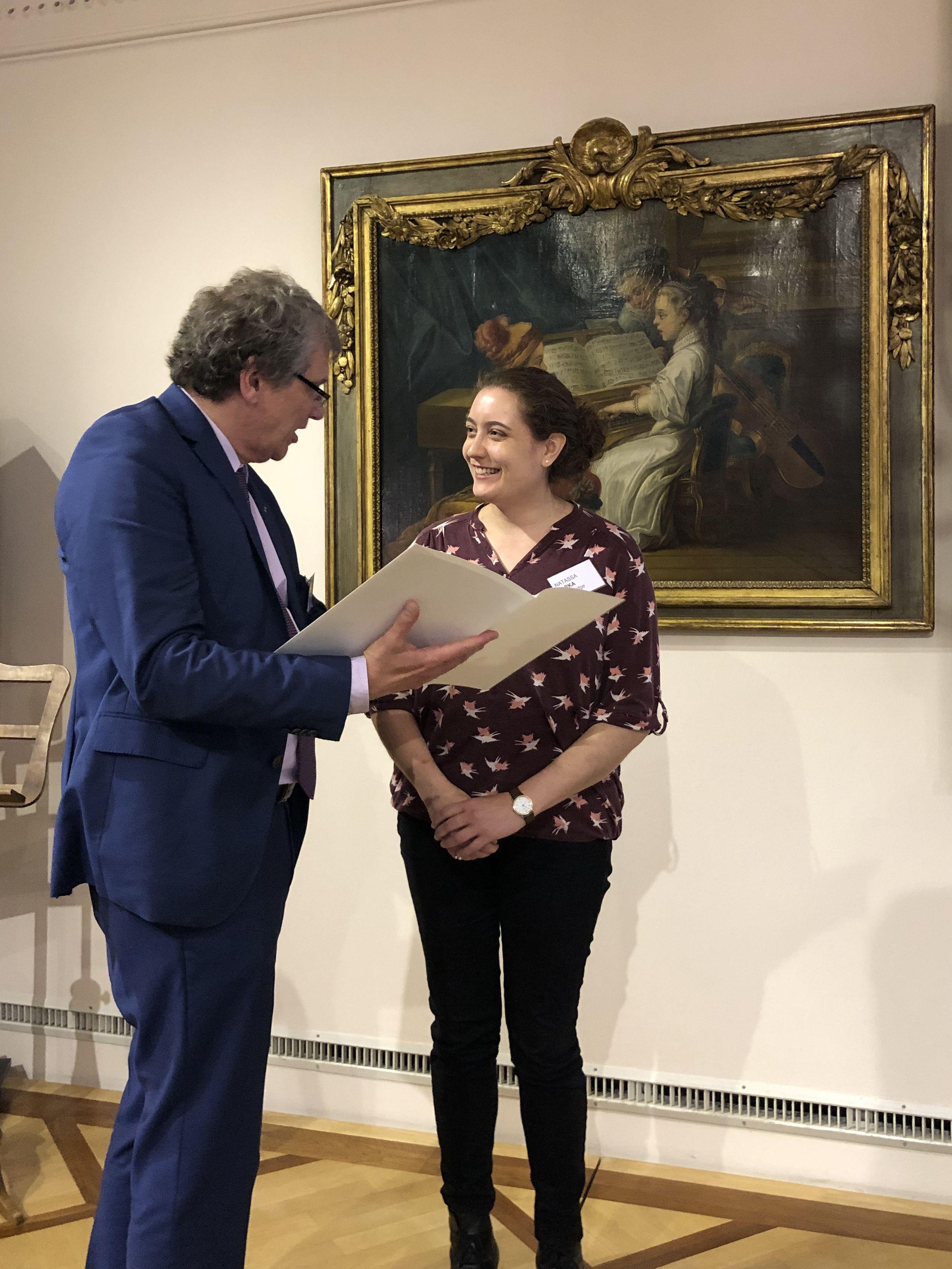 Natassa Varka wins International Handel Research Prize 2019